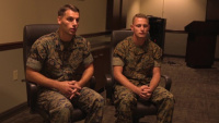 Courage amidst tragedy: Marines act, save lives