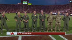 Okie flyover crew recognized
