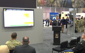 AUSA 2017: Warriors Corner #14 AMC Role in Delivering Readiness at the Tactical Point of Need