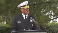 USS Cole Memorial Service