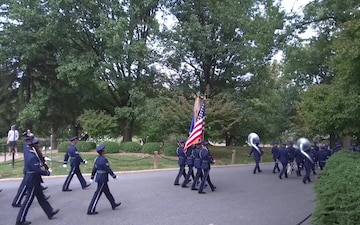 US Air Force Full Honor funeral for Col. Robert Anderson