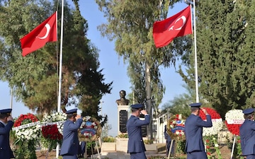 39th Security Forces Squadron hosts Turkish Air Force