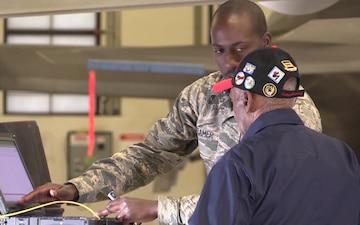 Tuskegee Airman SSgt Leslie Edwards B-roll