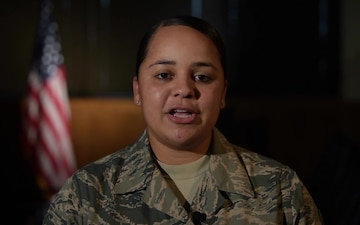 Tech. Sergeant Tara Hickman holiday greeting