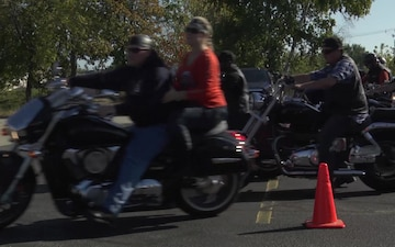 Manchester, NH Community Rides for Injured Army Reserve Soldier