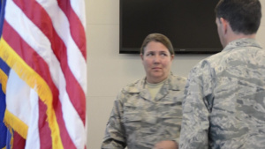 145th AW Command Chief Assumption of Authority