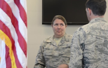 145th AW Command Chief Assumption of Responsibility