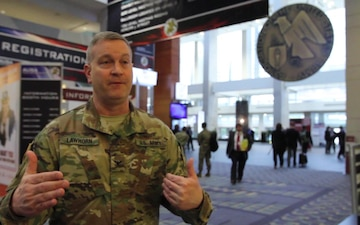 COL Lawhorn Interview at AUSA