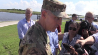 Governor Scott tours Hebert Hoover Dike at Lake Okeechobee