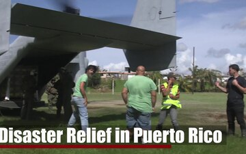 VMM-264 Supports Disaster Relief Efforts in Puerto Rico
