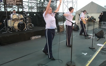 U.S. Air Force Band of the Pacific Rocks Kumamoto Country Gold Music Festival (Package/Pkg)
