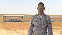 Capt. Jet Sadorra Shout Out - Air Force Falcons