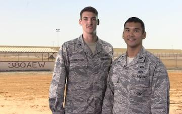 Capt. Jet Sadarroa and Capt. Brian Scheller Shout Out - Air Force Falcons