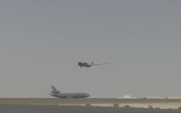 RQ-4 Global Hawk Takeoff