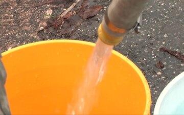 714th Distributes Water at Morovis