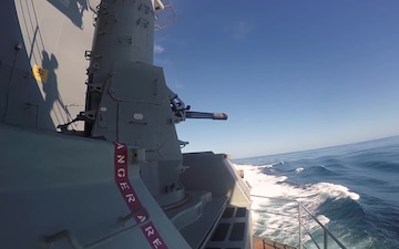 Lincoln Sailors Conduct CIWS PAC Fire