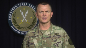 LTG Paul Funk Raqqa Liberation statement