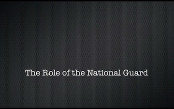 The role of the National Guard as told by Citizen Soldiers from around the country currently serving in Puerto Rico