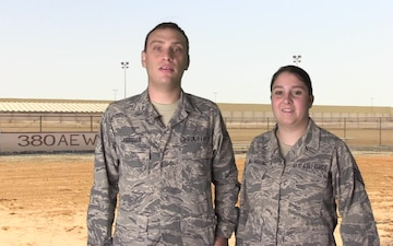 SSgt Willie Willenbring and SSgt Chad Lybarger Shout Out - Minnesota Vikings