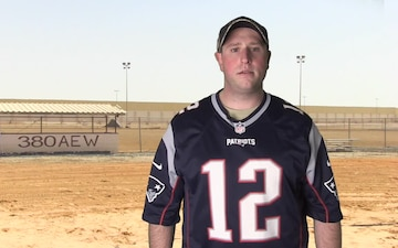 SSgt Matthew Footit Shout Out - New England Patriots