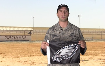 SrA Gabriel Folmar Shout Out - Philadelphia Eagles