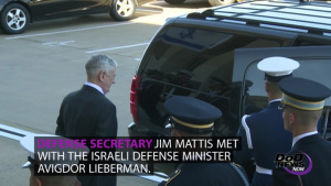 Mattis Meets With Israel's Defense Minister