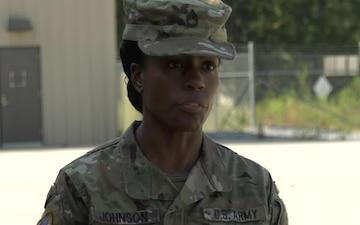 Sgt. 1st Class Candace Johnson
