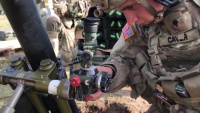 M252A1 81mm Mortar live fire