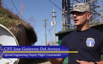 85th EIS Airmen repair communications in Puerto Rico