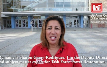 Hurricane Maria - Deputy Director of Task Force Power Restoration