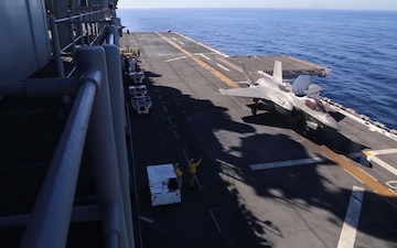 F-35B Lightning II Carrier Qualifications