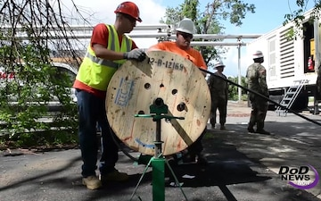 Army Corps of Engineers Working to Restore Power in Puerto Rico