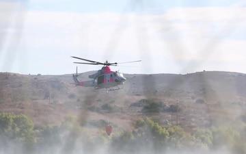 HMLAT-303, CAL FIRE combat California wildfires