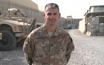 Col. Chris Stoppel Shout-out for AF/Army Football game