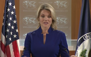 Department of State Press Briefing with Spokesperson Heather Nauert