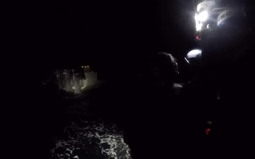 Coast Guard Cutter Active intercepts smuggling vessel in Eastern Pacific