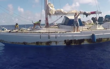 USS Ashland Renders Aid to Mariners 2