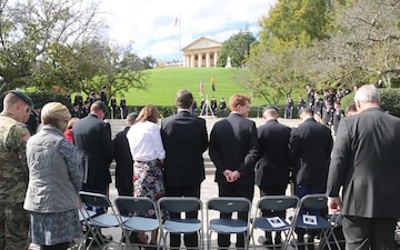 2017 John F. Kennedy Wreath Laying Ceremony