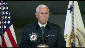 Vice President Speaks at Minot Air Force Base
