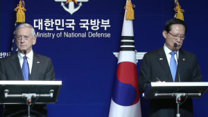 Defense Secretary, South Korean Defense Minister Hold Joint News Conference
