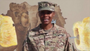 Master Sgt. Meagan McMillan - Veterans Day Shout out