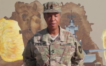 Master Sgt. Barclay-Scott - Veterans Day Shout out