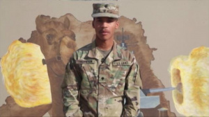 Spc. Thornton - Veterans Day Shout out