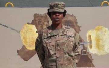 Sgt. 1st Class Robinson - Veterans Day Shout out