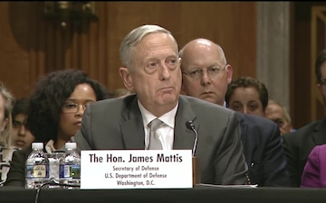 Defense Secretary, Secretary of State Testify on Use of Military Force at Senate Foreign Relations Committee Hearing