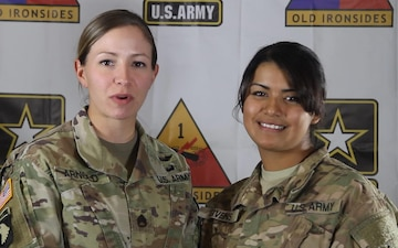 SSG Cathleen Arnold and SGT Valerie Givens - Holiday Greeting