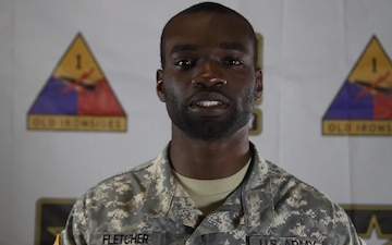 Spc. Jerando Fletcher - Holiday Greeting