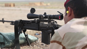 Iraqi Security Forces Conduct Train the Trainer Sniper Course