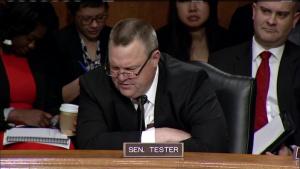 DoD Official Testifies at Senate Hearing on Federal Hurricane Response