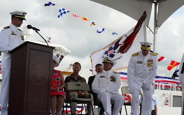 U.S. Coast Guard Cutter Oliver Berry (WPC 1124) commissioning